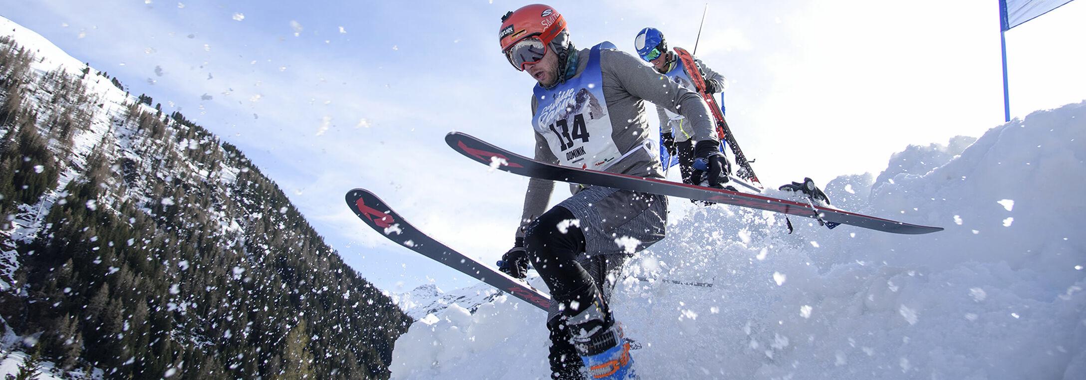Skirennen Der weisse Rausch